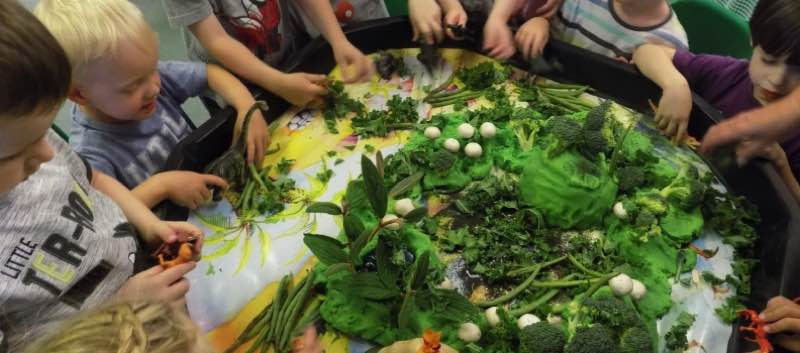Pre-school Vegetable Fun!