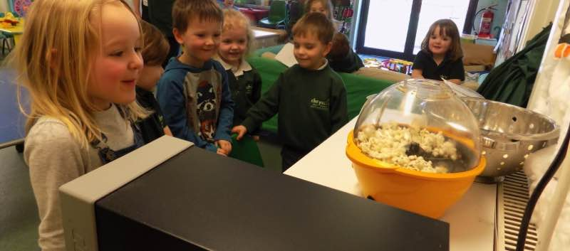 It's A 'Popping' Time in Pre-school
