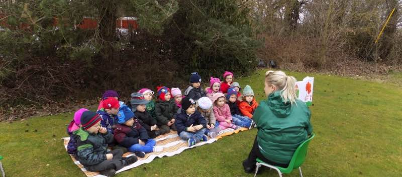 Story-Time In the Great Outdoors
