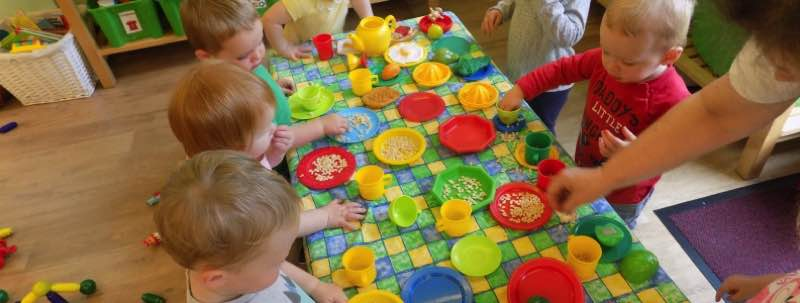 Caterpillars Rice Krispie Tea Party!