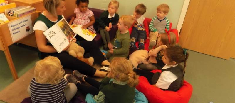 Story-time in Pre-school
