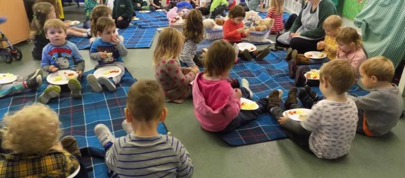 Pudsey's Teddy Bear's Picnic