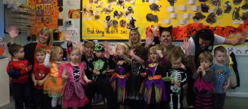 Spooky Happenings At Chrysalis………