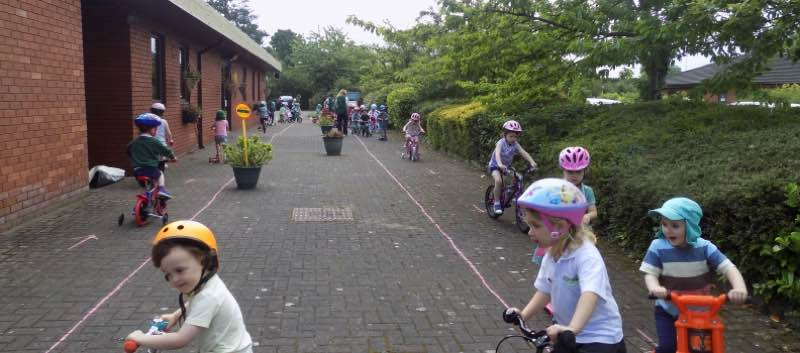 Bike Day in Pre-school!