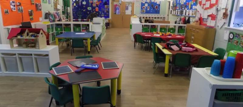 New Flooring For Pre-school