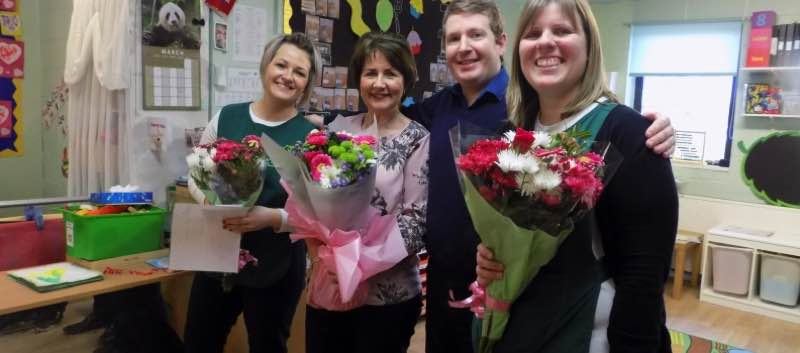 Special Recognition For Staff