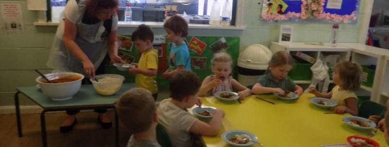 School Dinners For Pre-school