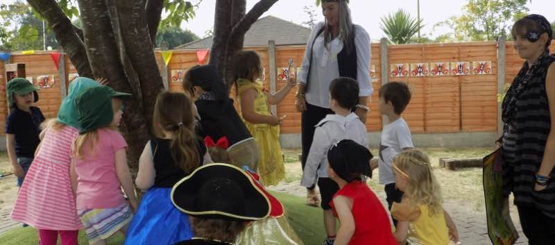Pirate and Princess Day in Butterflies